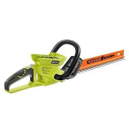 lithium ion cordless hedge trimmer