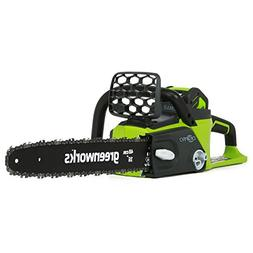 GreenWorks 20322 G-MAX 40V 16-Inch Cordless Chainsaw Battery