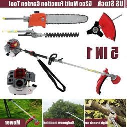 Multi Function Grass Weed Eater String Trimmer 52cc 2-Stroke