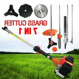 7in1 52cc Multi Powerful Gas Grass Trimmer Gasoline String T