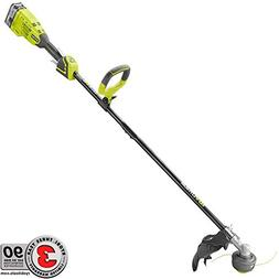 ONE+ 18-Volt Lithium-Ion Brushless Cordless String Trimmer -