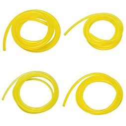 eBoot 20 Feet Petrol Fuel Line Hose with 4 Sizes Tubing for
