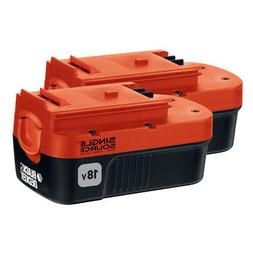 Black & Decker HPB18-OPE2 18V Ni-Cd Slide Battery