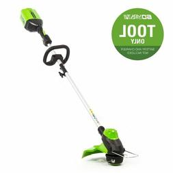 "Greenworks Pro 60v Max Cordless String Trimmer 13"" Tool Only"