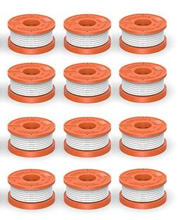 "Quickload 0.065"" WA0010 Spool for WORX String Trimmers , 12-"