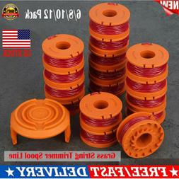 Replacement Grass String Trimmer Spool Line +Cap Cover For W