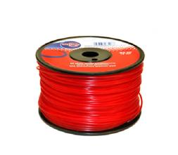 ROLL OF .095 X 280'  RED COMMERCIAL TRIMMER LINE OR WEEDEAT