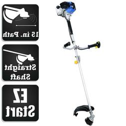 Straight Shaft Trimmer Brush Cutter Combo Blue Max 2-Cycle G