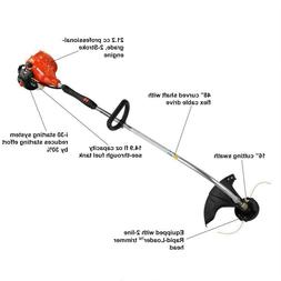 ECHO String Trimmer 2- Cycle 21.2 cc Gas- Reconditioned Unit