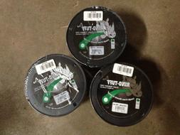 """string trimmer line 3-3lb spools .130"""" dia round core filled"""