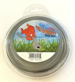 """STRING TRIMMER LINE - SQUARE DUO CORE - .095"""" - 110 FEET - 1"""