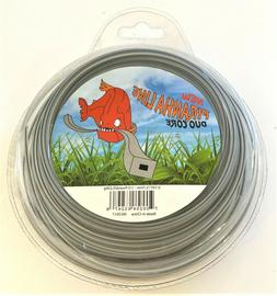 """STRING TRIMMER LINE - SQUARE DUO CORE - .105"""" - 110 FEET - 1"""