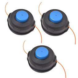 GULUBO Pack of 3 T25 Weed Wacker String Trimmer Head for Hus