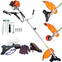 ECO LLC Two-Stroke Gas Powered Straight Shaft String Trimmer