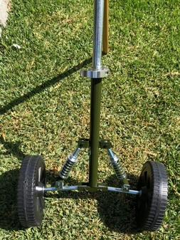 Universal String Line Trimmer Wheels 4 Gas/Electric Independ
