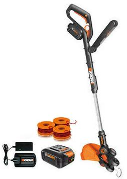 WORX WG160.4 GT 20V PowerShare Cordless 4.0 ah String Trimme