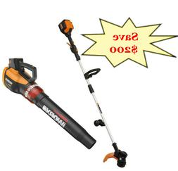 "WORX WG926 TURBINE 56V 13"" Cordless String Trimmer/Edger & L"