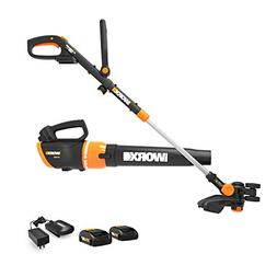 Worx WG954.1 20V Revolution Grass Trimmer/Edger and Turbine
