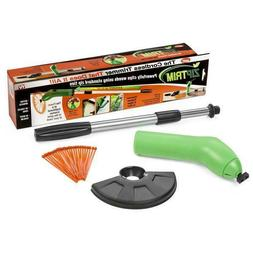 zip trim cordless trimmer and edger green